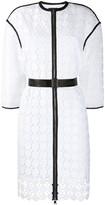 Karl Lagerfeld Paris Circle Lace Coat