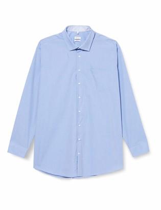 Seidensticker Men's Regular Langarm uni bugelfrei 3 Dress Shirt