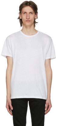 Rag & Bone White Classic Pixel T-Shirt