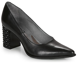 Myma LOUSTIKIME women's Heels in Black