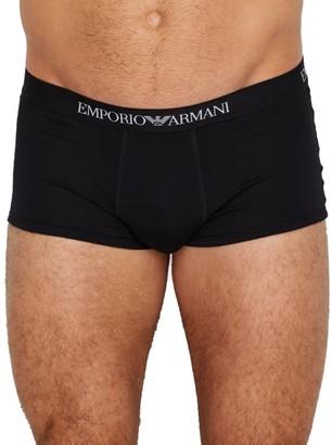 Emporio Armani Pure Cotton Trunk 3-Pack