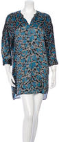 Zadig & Voltaire Abstract Print Shift Dress