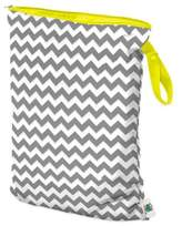 Bed Bath & Beyond Planet Wise Large Wet Bag in Grey Chevron