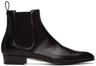 Gucci Black Double G Chelsea Boots