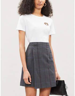 Maje Leo Zodiac cotton t-shirt