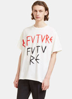 Gucci Men's Future Printed T-shirt In Off-white