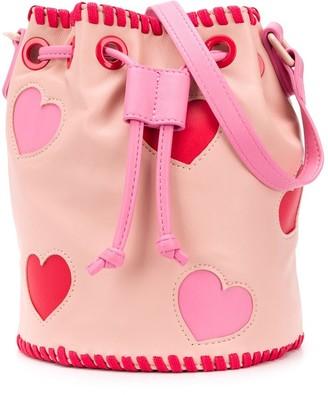 Stella Mccartney Kids Cut-Out Hearts Crossbody Bag
