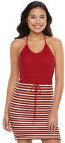 Candies Juniors' Candie's® Knit Halter Midi Dress