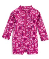 Tea Collection Infant Girl's Okinawa One-Piece Rashguard Swimsuit