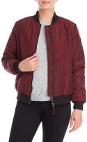 philosophy Quilted Bomber Jacket