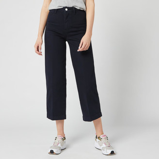 Tommy Hilfiger Women's Bell Bottom High Waisted Jeans
