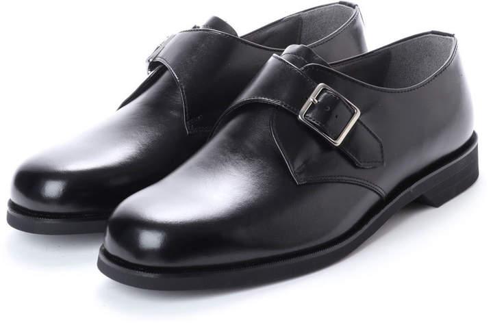 BLACK (ブラック) 日本製 超幅広 ビット 幅広 ブラック 本革ビジネスシューズ 6E G