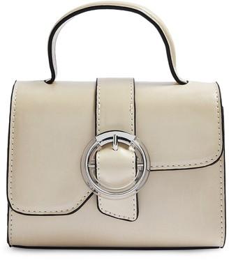 Topshop Mini Mia Faux Leather Crossbody Bag