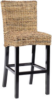 Classic Concepts Ivy Barstool, Woven Rattan