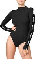 Ivy Park Women's Elastic Logo Sleeve Bodysuit