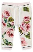 Dolce & Gabbana Baby's Floral Jogger Pants