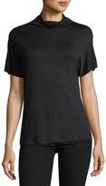 Kensie Short-Sleeve Knit Pullover Top