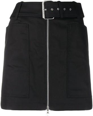 DEPARTMENT 5 Belted Mini Skirt