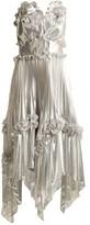 Zandra Rhodes Archive Ii The 1977 Sunray Gown - Womens - Silver