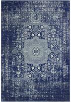 """Blue Area Bashian Fanny Dark Rug, 8'6""""x11'6"""""""