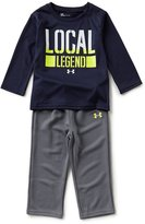 Under Armour Baby Boys 12-24 Months Local Legend Long-Sleeve Tee & Pant Set