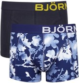 Björn Borg Stretch Cotton Boxer Briefs - Set Of Two