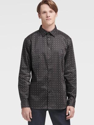 DKNY Art Deco Polka Dot Shirt