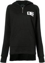 Baja East zip neck hoodie