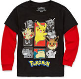 Pokemon Pokmon Long-Sleeve Tee - Preschool Boys 4-7