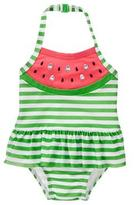 Gymboree Watermelon 1-Piece Swimsuit