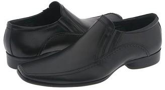 Kenneth Cole Reaction Key Note (Black Leather) Men's Slip-on Dress Shoes