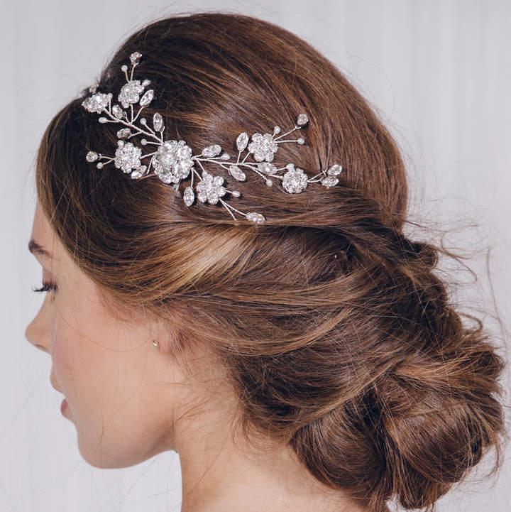 Carlisle Debbie Small Crystal Bridal Hair Vine Comb Small Sydney
