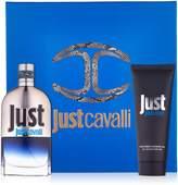 Roberto Cavalli Just Cavalli Him (New Packaging) Coffret: EDT Spray 90ml/3oz + Shower Gel 75ml/2.5oz