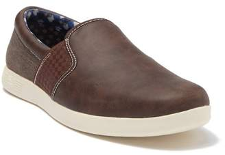 Ben Sherman Presley Gingham Slip-On Sneaker