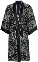 Natori Pagoda wrap night-gown