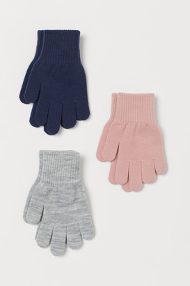 H&M 3-Pack Gloves