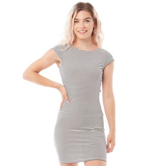 Only Womens Pablo Cap Sleeve Jersey Dress Cloud Dancer