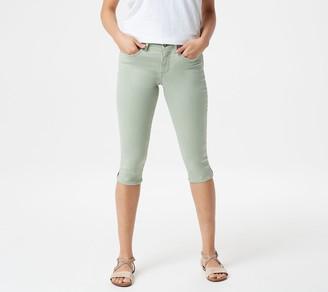 NYDJ Skinny Capri with Side Slits -Desert Willow