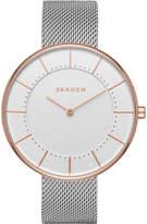 Skagen SKW2583 Gitte rose gold-plated stainless steel watch