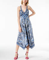 INC International Concepts I.n.c. Handkerchief-Hem Maxi Dress, Created for Macy's