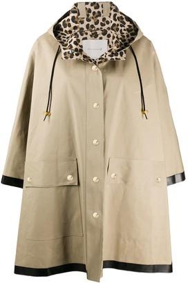 MACKINTOSH Press-Stud Hooded Raincoat