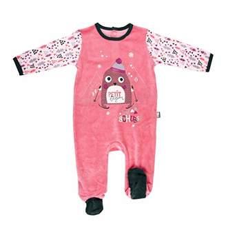 Camilla And Marc Baby Velour Pyjamas Artic Bird - 24 Months (92 cm Waist)