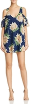 Show Me Your Mumu Birdie Cold Shoulder Floral Dress