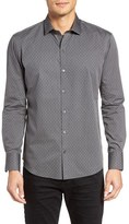 Zachary Prell Men's Paisley Dot Sport Shirt