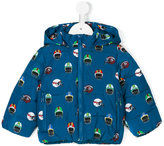 Stella McCartney padded hooded coat - kids - Polyester - 6 mth