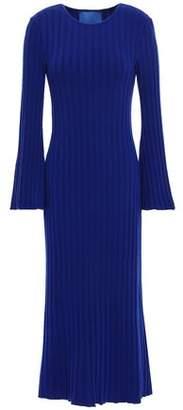 Simon Miller Ribbed-knit Midi Dress