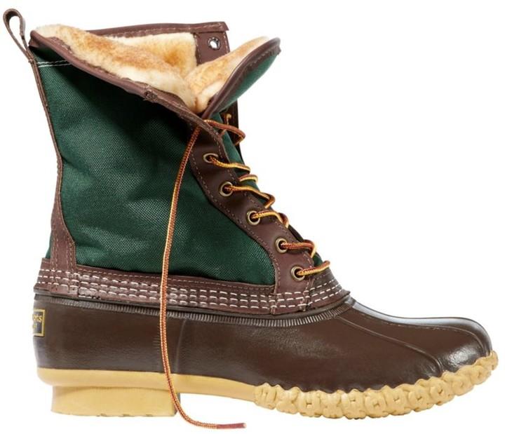 """L.L. Bean Men's L.L.Bean Boots, 10"""" Shearling-Lined"""