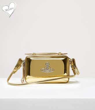 Vivienne Westwood Johanna Camera Bag Gold