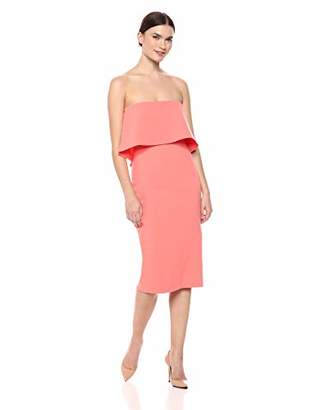 LIKELY Women's Driggs Bodycon Midi Strapless Party Dress