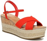 Fergalicious Pardy Platform Wedge Sandal